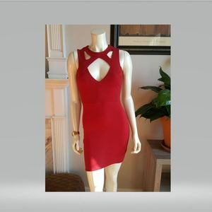 Charlotte Russe Hot Red Dress